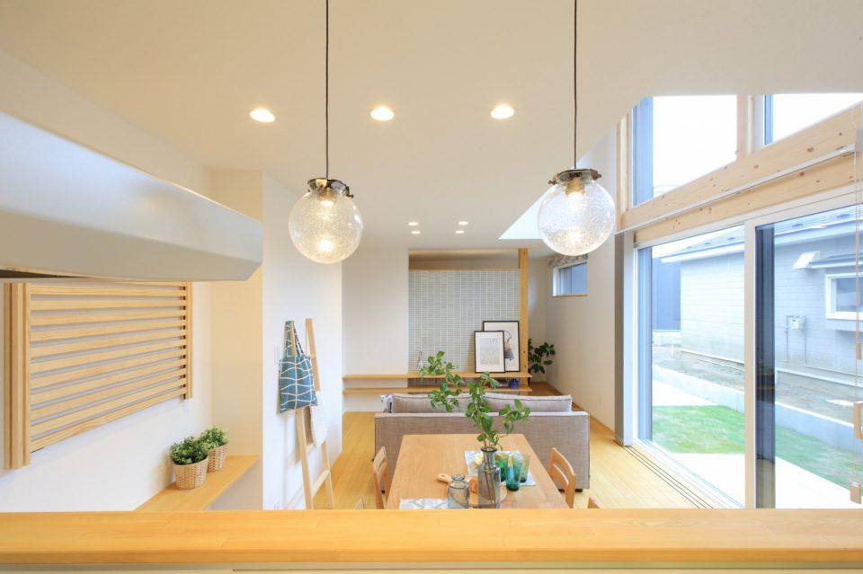 北欧スタイルのパッシブ換気暖房の家