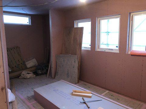 造作工事が始まります