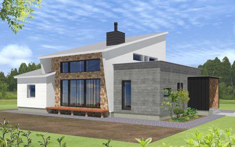 暖かな火と陽に癒される家