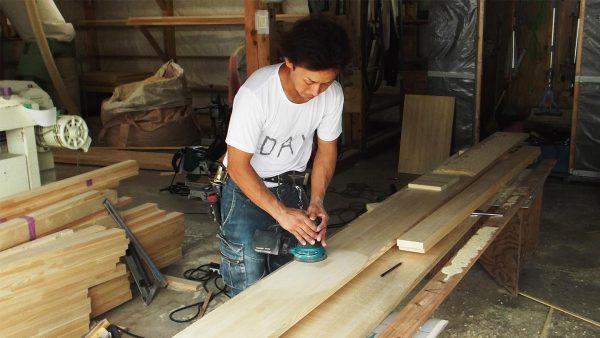 造作木材の仕上げ篇 その1